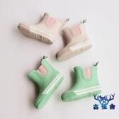 兒童雨鞋小童水鞋防滑防水簡約出口尾單瑕疵橡膠【古怪舍】