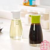 玻璃防漏調味瓶廚房調料罐小油瓶家居用品醬油壺【匯美優品】