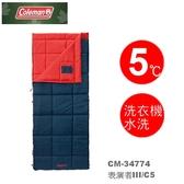【速捷戶外】美國Coleman CM-34774 表演者III睡袋5度C/信封型睡袋/輕量化纖睡袋/可機洗.可當棉被.睡墊