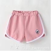 女童短褲正韓夏裝中大童休閒運動兒童中褲夏季女孩五分褲