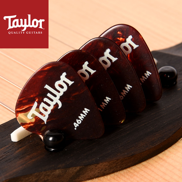 小叮噹的店- Taylor (8078-4片/組) Tortoise Shell 351 吉他彈片 PICK