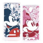 【Disney 】Xiaomi 紅米 Note 2 人物系列彩繪保護套