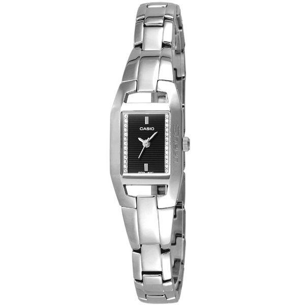 CASIO Sheen系列甜美氣質腕錶-黑