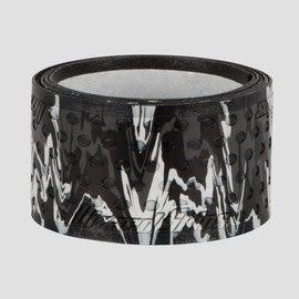 「野球魂中壢店」--「Lizard Skins」蜥蜴皮球棒握把布(黑×白,厚度=0.5mm)