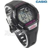 CASIO卡西歐 LWS-2000H-1A 慢活首選輕量型混色運動休閒電子錶 女錶 學生錶 黑x桃紅 LWS-2000H-1AVDF