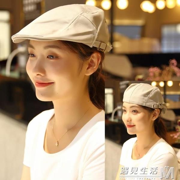 貝雷帽黑色服務員工作帽子棒球帽店員廚師帽前進帽定制印字廣告帽 雙十一全館免運