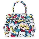 SAVE MY BAG Miss系列限量Hello Kitty輕量防水托特包(藍色)280005-1