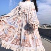 洛麗塔現貨 原創全款日常白菜op甜美春夏季長袖lolita可愛洋裝 滿天星