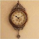 【衫衫來時】家用牆壁鐘錶靜音客廳掛鐘時鐘北歐裝飾掛錶B8074KY