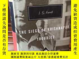 二手書博民逛書店Siege罕見of Krishnapur Troubles by