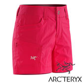Arc'teryx 始祖鳥 Parapet 女透氣輕薄短褲『深仙人掌花紅』17125|休閒褲|登山褲|短褲
