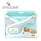 Anna&Eve 美國 嬰兒舒眠包巾(灰色/S號) / 防驚跳新生兒 / 早產兒肚兜