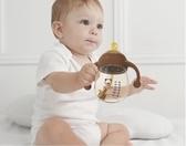 奶瓶 材質耐摔寬口徑大寶寶防脹氣新生嬰兒吸管奶瓶硅膠【免運直出】
