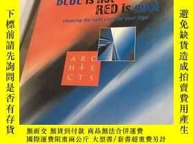 二手書博民逛書店Blue罕見is Hot, Red is Cool: Choosing the Right Colors for