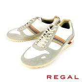 【REGAL】休閒時尚運動鞋 白色(57KR-WH)