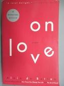 【書寶二手書T9/原文小說_KBJ】On Love_Botton, Alain De