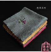 茶布茶巾托刺繡布藝吸水棉麻禪意日式茶席桌布【匯美優品】