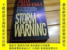 二手書博民逛書店STORM罕見WARNING 風暴警報Y20470 Billy