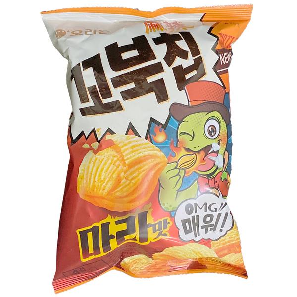 玉米脆菓-韓國ORION 好麗友 玉米濃湯風味四重脆菓 玉米脆果 玉米濃湯餅乾 80g 【庫奇小舖】