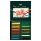 《享亮商城》128524  24色藝術家級粉彩條   FABER-CASTELL