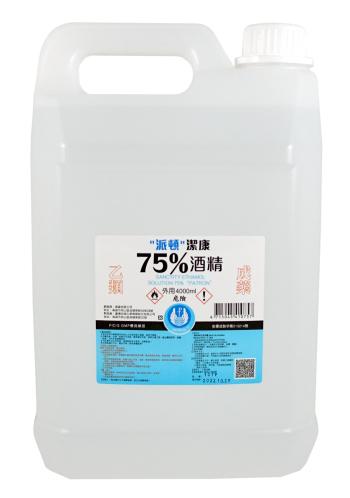 派頓 潔康酒精75% 4公升/桶