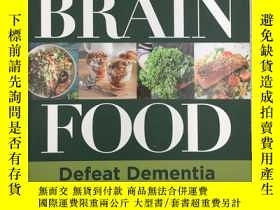 二手書博民逛書店Brain罕見Food: Defeat Dementia and