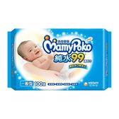 【滿意寶寶】天生柔嫩溫和純水一般型溼巾-補充包(100入X12包/箱購)-箱購