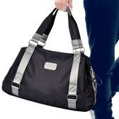 正韓男包包商務休閒行李包男士旅行包手提單肩斜挎包健身 一件免運