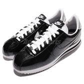 【五折特賣】Nike 復古慢跑鞋 Cortez PREM QS 黑 銀 白 亮粉漆皮 阿甘鞋 男鞋 【PUMP306】 819721-001