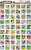 Disney 米奇系列-01 郵票格子貼紙←贈品 獎勵 百格 文具 貼紙 點數 郵票 格子貼 禮物 棒棒