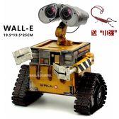 WALL-E機器人瓦力復古鐵藝模型裝飾擺設鐵皮創意工藝品儲錢罐禮物【快速出貨】