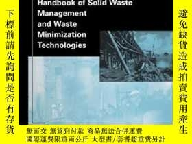 二手書博民逛書店Handbook罕見Of Solid Waste Management And Waste Minimizatio