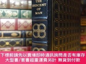 二手書博民逛書店達爾文的罕見The Descent of Man and Selection in Relation to Sex