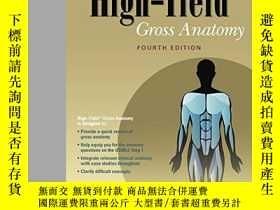 二手書博民逛書店High-yield罕見Gross Anatomy (high-yield Series)Y364682 Ro