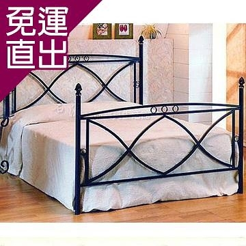 名流寢飾 承襲歐洲鍛造工藝床架雙人加大-M017【免運直出】