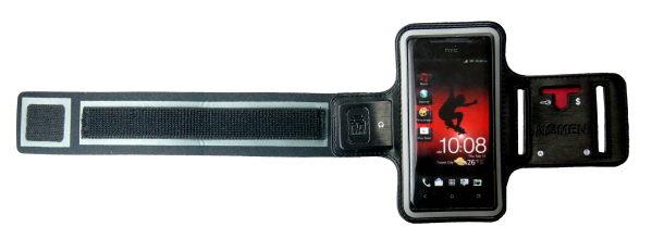 KAMEN Xction 甲面 X行動HTC J專用運動臂套HTC J運動臂帶HTC J運動臂袋 運動手機保護套 運動手臂套