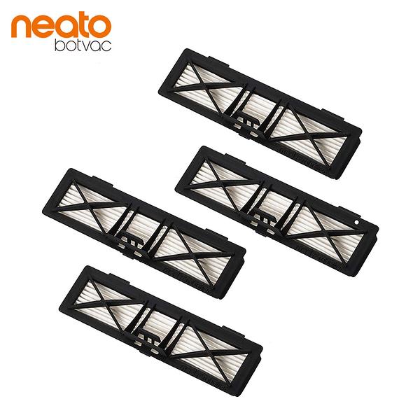 【美國 Neato】Botvac 系列 原廠專用高效能 特級HEPA 濾網 (4片)