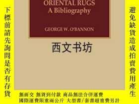 二手書博民逛書店【罕見】1994年 Oriental Rugs: A Bibli
