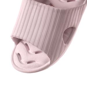 緩壓排水浴室拖鞋94001-粉M