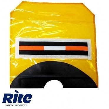 Rite 百潤牌 防煙面罩(口袋型) MHS-KT-102 [新型專利反光條+耐火鬆緊帶設計]