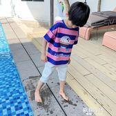 男童短袖T恤夏男孩韓版潮兒童上衣夏童裝 歐韓時代