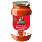 聖雷蒙頂級麵醬蕃茄大蒜口味500g【愛買】