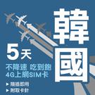 現貨 韓國通用 5天 SKT雙電信 4G...