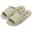 星型排水拖鞋 浴室拖鞋 TC603 BE 43-44 NITORI宜得利家居