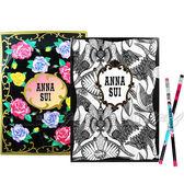 ☆17go☆ ANNA SUI 安娜蘇 經典薔薇文件夾+魔法星願文件夾+DOLLY GIRL 鉛筆組