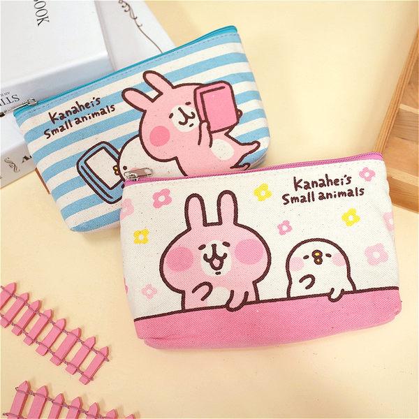 PGS7 卡娜赫拉系列商品 - 卡娜赫拉 三角 手機套 筆袋 兔兔 P助 Kanahei 【SIM7957】