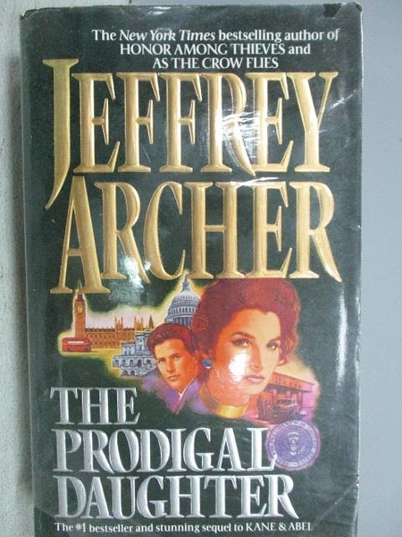 【書寶二手書T8/原文小說_FQW】The Prodigal Daughter_Jeffrey Archer