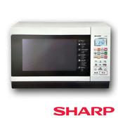促銷【夏普SHARP】 27L烘燒烤變頻微波爐 R-T28NC(W)
