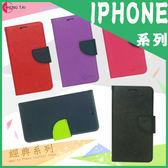 ●經典款 系列 Apple IPhone 4/4S/iPhone 5/5S/SE/側掀可立式皮套/保護殼