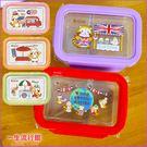 《挑款》7-11 集點 小浣熊 正版 耐熱玻璃分隔保鮮盒 兒童 卡通 便當盒 生日禮物  B09666
